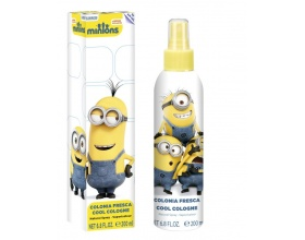 Minions Cool Spray Eau De Toilette for kids 200ml