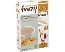 FREZYLAC Organic Cereals Βρεφική κρέμα βιολογικής προέλευσης με Μούσλι μετά τον 8ο μήνα 175g