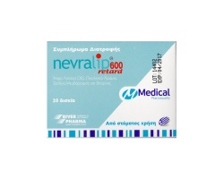 Medical Pharmaquality Nevralip 600mg Retard, 20 tabs
