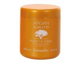 Argan Oil Sublime Μάσκα αποκατάστασης με έντονο εξωτικό άρωμα και χρυσή κρεμώδη υφή 1000 ml