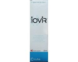 Cube Iovir Throat spray  Σπρέι για το λαιμό κατά των ιών με γεύση κεράσι  20ml