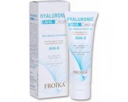 Froika Hyaluronic AHA-8 Cream 50ml,  Δερματολογική κρέμα με α-υδροξυοξέα φρούτων & Υαλουρονικό οξύ