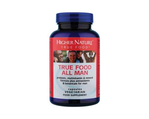 Golden Higher Nature True Food All Man, 90 φυτικές κάψουλες