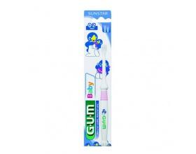 Gum Baby 0-2 χρονών Οδοντόβουρτσα Απαλό μασάζ στα ούλα και στα δόντια (213)