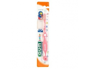 GUM 215 Junior Παιδική Οδοντόβουρτσα (7-9 ετών), με μικρή κεφαλή κατάλληλη για για τα αναπτυσσόμενα δόντια του παιδιού