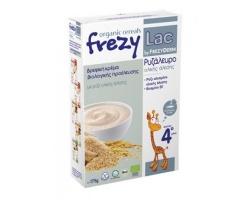 FREZYLAC Organic Cereals Βρεφική κρέμα βιολογικής προέλευσης με Ρυζάλευρο Ολικής άλεσης μετά τον 4ο μήνα 175g