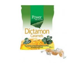Power Health Dictamon Caramels Καραμέλες για το Βήχα από Κρητικό Δίκταμο και Μέλι, 60 gr