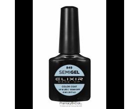 Elixir semigel uv/led, Ημιμόνιμο βερνίκι no849,Baby Blue Eyes, 8ml