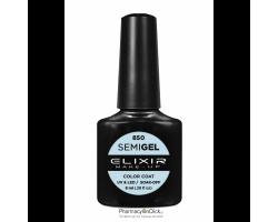 Elixir semigel uv/led, Ημιμόνιμο βερνίκι no850, Bubbles, 8ml