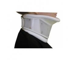 ADCO Αυχενικό Κολλαρό Ρυθμιζομένου Ύψους με Υποσαγώνιο 01103 Μέγεθος Large 41-46cm Χρώμα Λεύκο, 1 Τεμάχιο