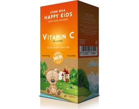 John Noa Happy Kids Vitamin C  Παιδικά Ζελεδάκια Πλούσια σε Βιταμίνη C 90Gummies