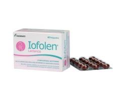 ITF Iofolen Iofolen Lactancia Συμπλήρωμα διατροφής με Ω-3 Λιπαρά οξέα βιταμίνες & ανόργανα στοιχεία 60Caps