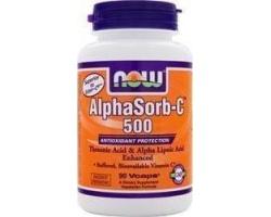 Now Foods AlphaSorb-C 500, 90 Veg caps