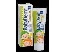 Intermed Babyderm Toothpaste Παιδική Οδοντόκρεμα με Γεύση μπανάνα 50ml