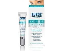 Eubos Anti Age Hyaluron Eye Contour Creme Serum,Κρέμα για την περιοχή των ματιών,Συμβάλλει στη λείανση των ρυτίδων, στην ενυδάτωση & ανάπλαση του δέρματος,15ml