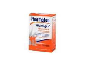 Pharmaton  Vitamigen Effervescent, Συμπλήρωμα Διατροφης που ενισχύει την φυσική και πνευματική ευεξία με Ginseng G115, 20 αναβράζοντα δισκία