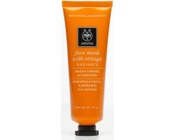 APIVITA Face Mask with Orange Radiance Μάσκα λάμψης με ποροκάλι 50ml