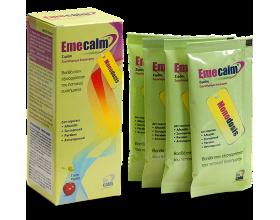 Emecalm Σιρόπι με γεύση κεράσι 6x10ml φακελάκια, Συμπλήρωμα Διατροφής που επαναφέρει τα επίπεδα της γλυκόζης και την καλή λειτουργία του πεπτικού συστήματος.