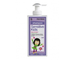 Frezyderm Sensitive Kids Shampoo for girls, Ειδικό σαμπουάν για τη φυσιολογική, ευαίσθητη ή ερεθισμένη επιδερμίδα των μικρών κοριτσιών 200ml