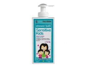 Frezyderm Sensitive kids & Family, Ενυδατικό αφρόλουτρο για τη φυσιολογική, ευαίσθητη ή ερεθισμένη παιδική επιδερμίδα 200ml