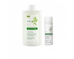 Klorane Shampoo Lait D' Avoine 400ml + ΔΩΡΟ Dry Shampoo 50ml