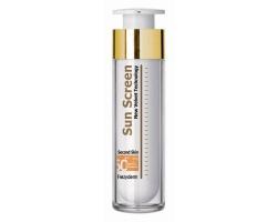 Frezyderm SUN SCREEN Velvet Second Skin Face, Αντιηλιακή κρέμα προσώπου με δείκτη spf 50+ για όλους τους τύπους δέρματος 50ml
