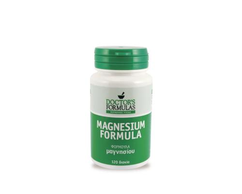 Doctor's Formula Magnesium 480mg, Φόρμουλα Μαγνησίου 120 Δισκία