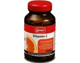 Lanes Vitamin C 1000mg, Συμπλήρωμα Διατροφής για την πρόληψη του κρυολογήματος και για την τόνωση του ανοσοποιητικού 60chew tabs