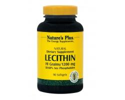 Nature's Plus Lecithin με Λεκιθίνη, 1200mg 90 μαλακές κάψουλες