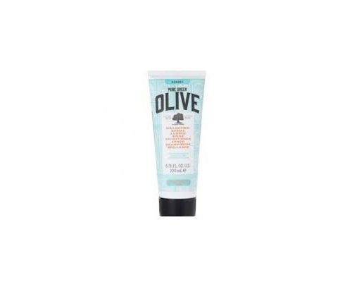 Korres Pure Greek Olive Shine Conditioner Μαλακτική Κρέμα Μαλλιών Λάμψης για Κανονικά Μαλλιά, 200ml