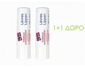 Neutrogena Norwegian Formula Lip Stick Ενυδατικό Στικ Χειλιών, ΠΡΟΣΦΟΡΑ 1+1 ΔΩΡΟ, 2 x 4.8 gr