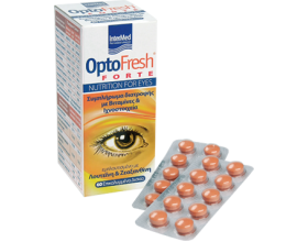 Intermed Optofresh Forte, Συμπλήρωμα Διατροφής για την Πρόληψη & Επιβράδυνση της Εξέλιξης Χρόνιων Παθήσεων των Οφθαλμών  60 επικαλυμμένα δισκία