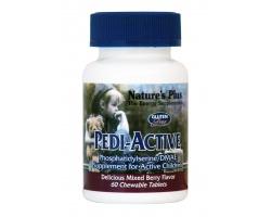 Nature's Plus Pedi Active για Παιδιά με Ενέργεια και Αδυναμία Συγκέντρωσης, 60chew tabs