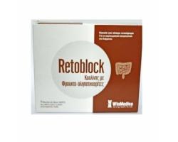 WinMedica Retoblock Καολίνης με Φρουκτο-ολιγοσακχαρίτες,14 Φακελίσκοι μιας χρήσεως