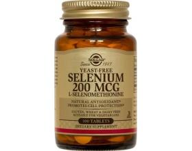 SOLGAR Selenium 200mcg 100caps, Συμπλήρωμα Διατροφής βασικό για την ομαλή ανάπτυξη που μπορεί επίσης να προστατεύσει θετικά από την ανάπτυξη καρδιακών και άλλων εκφυλιστικών παθήσεων