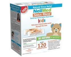 NeilMed Sinus Rinse Pediatric Ανταλλακτικά 120 Φακελάκια