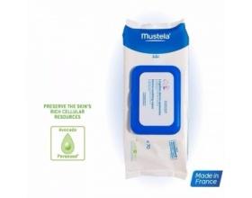 MUSTELA Dermo-Soothing Wipes Delicately Fragnanced Καθαρίζει και καταπραΰνει τη μηρογεννητική περιοχή από την 1η ημέρα 70τμχ