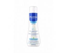 MUSTELA Gentle Cleansing Gel Τζελ καθαρισμού με ήπιο αφρισμό, για σώμα και μαλλιά 100ml