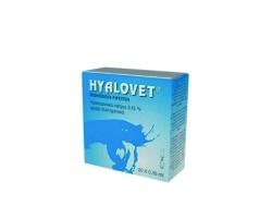 Hyalovet Υαλουρονικό Νάτριο, 20x0.35ml