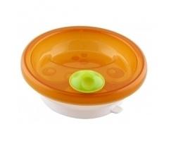 Primamma 840, Πιάτο διατήρησης Θερμοκρασίας με Βεντούζα Στήριξης, 6+ Μηνών, Χρώμα Πορτοκαλί, 1τμχ