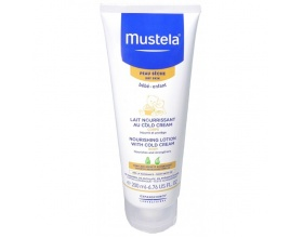 MUSTELA Nourishing Lotion with Cold Cream Γαλάκτωμα για θρέψη με Cold Cream για το σωματάκι του μωρού σας 200ml