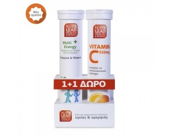 NutraLead Multi Energy + Δώρο Vitamin C 550mg