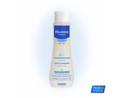 MUSTELA Gentle Shampoo Απαλό σαμπουάν για τα λεπτά, εύθραυστα μαλλιά του παιδιού ή του μωρού 200ml