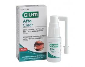 GUM Afta Clear Spray ιδανικό για θεραπεία στοματικών αφθών δεν προκαλεί τσούξιμο 15ml