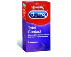Durex Total Contact  6τεμ.