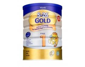Wyeth S-26 GOLD ALFA PRO 1, Βρεφικό γάλα για βρέφη μέχρι και τον 6ο μήνα 400γρ
