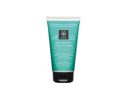 APIVITA Balancing Conditioner Κρέμα Εξισορρόπησης για Μαλλιά με Λιπαρές Ρίζες & Ξηρές Άκρες, με Τσουκνίδα & Πρόπολη, 150ml