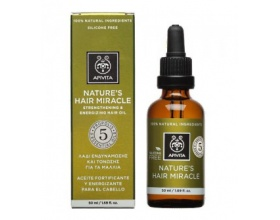 APIVITA Nature's Hair Miracle Λάδι Ενδυνάμωσης & Τόνωσης για τα Μαλλιά, με Πρόπολη & 5 Αιθέρια Έλαια, 50ml