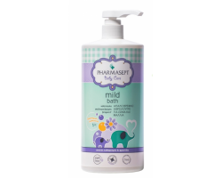 Pharmasept Baby Bath 2 in 1, Φυσικό παιδικό αφρόλουτρο για σώμα και μαλλιά 1lt