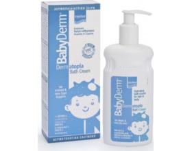 Intermed Babyderm Dermatopia Ενυδατική Κρέμα Καθαρισμού Κεφαλής και Σώματος για ατοπικά και πολύ ξηρά δέρματα, 300ml